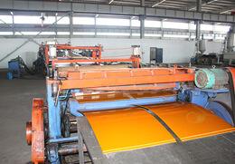 电热熔套板材生产线