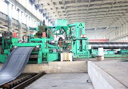 螺旋钢管生产机组