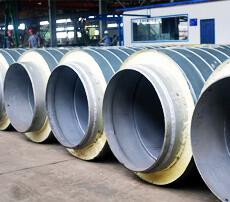 架空型聚氨酯保温管