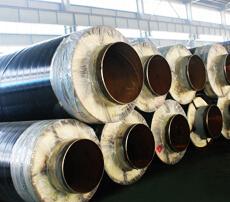钢套钢蒸汽保温管-外滑动
