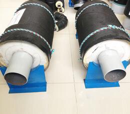 内滑动钢套钢直埋耐高温保温管