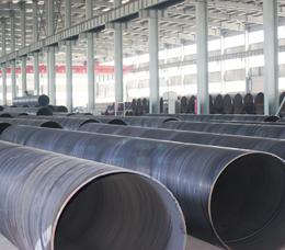 聚氨酯螺旋钢管工作钢管